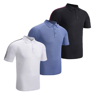 Glenmuir Performance Golf Polo Shirt Top 63% OFF RRP