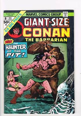 Giant-Size Conan # 2  Haunter of the Pit grade 7.5 scarce book !!