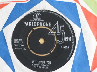 "The Beatles ""she Loves You"" 1963 Pop Beat Near Pristine Excellent + Condition"