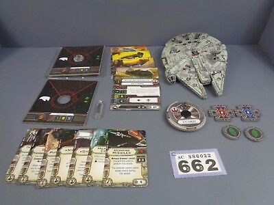 Wargaming Star Wars X Wing Clearance YT 1300 Millennium Falcon Lot 662