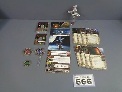 Wargaming Star Wars X Wing Clearance B Wing Lot 666