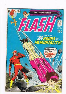 Flash # 206 24 Hours of Immortality ! grade 3.5 scarce book !!