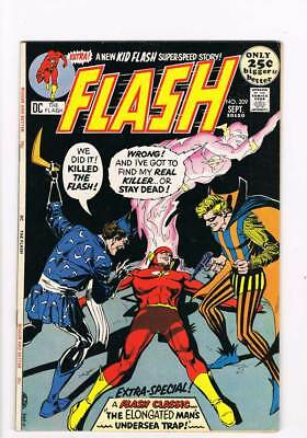 Flash # 209 Beyond the Speed of Life ! grade 8.5 scarce book !!