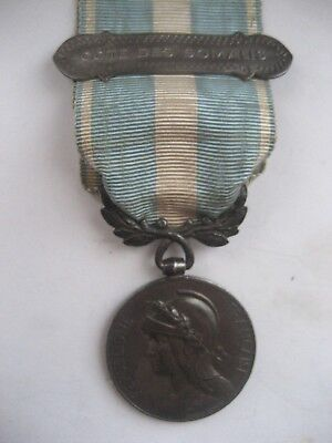 FOREIGN LEGION /FR FORCES 1st TYPE COLONIAL MEDAL.SOLID SILVER.COTE DE SOMALIS