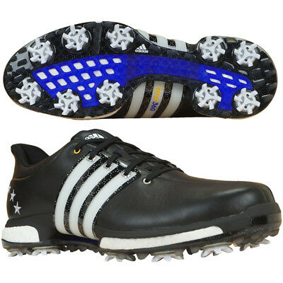 adidas Mens Tour360 Boost Special Edition Cleated Golf Shoes With Bag rrp£140