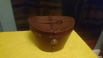 Lovely vintage Bucket-style Top Hat Box - Ascot