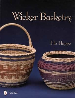 Wicker Basketry - How to Weave Baskets Guide incl Patterns Rattan Diagrams Etc