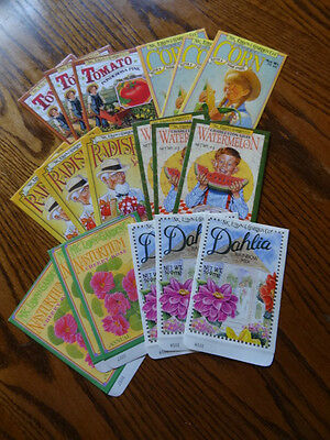 18 Vintage/Antique Look Seed Packets-Amazing Graphics-Frame? Crafts?Scrapping?
