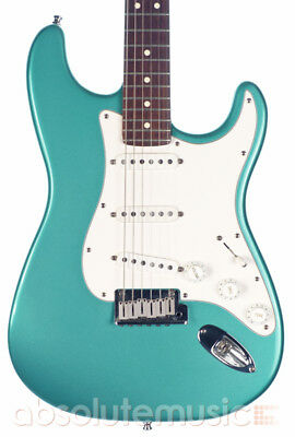 Fender American Standard Stratocaster Electric Guitar, Teal Metallic (Pre-Owned)