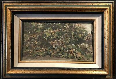 Pierre Vasserot (1887-1959) French Impressionist Oil - Double Sided Landscape