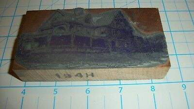 Antique Sagamore Hill Press Block--GREAT .99 CENT OPENING AUCTIONS! WEEKEND ONLY