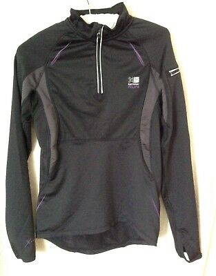 Womens long sleeved running / work out top - Karrimor - size 8