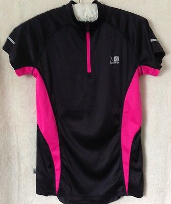 Womens short sleeved running / work out top - Karrimor - size 8