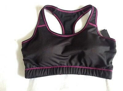 Womens cropped running / work out top - Crivit - size 10/12
