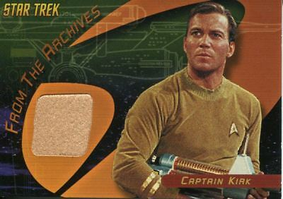 Star Trek TOS Quotable From The Archives Costume Card C1 Captain Kirk