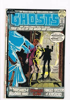 Ghosts # 4 The Crimson Claw ! grade 8.0 scarce book !!