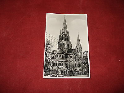 VINTAGE IRELAND: CORK St Fin Barre's Cathedral RP b&w 1963