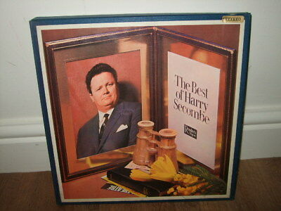 Vintage Readers Digest Best Of Harry Secombe Vinyl Boxset - 4 Album Records