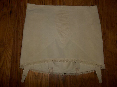 Vintage Triumph Lacy Girdle Suspenders Waist 36inches