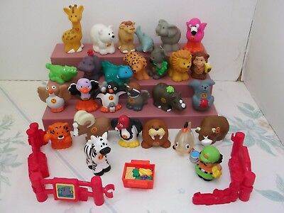 Fisher-Price A-Z Animals, Keeper and Accessories