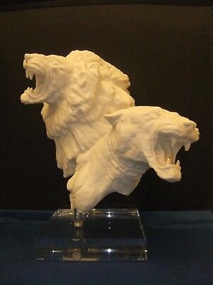 Royal Doulton Rare  Lion & Lioness By Alan Maslankowski Ltd Edition