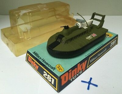 Military Hovercraft SRN6 militaire - Dinky Toys GB 281 - 1973 - BE+