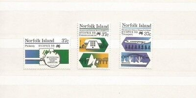 Norfolk Island Scott 437-9 Mnh