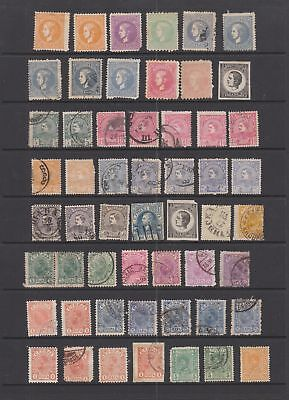 Serbia early collection, 116 stamps , 2 cards.