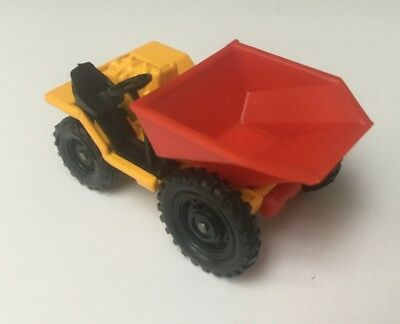 Engin benne Barford Bison Skip Dumper truck - Corgi Juniors 85a - 1974/78 - TTBE