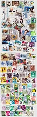 Estonia :  Used Stamps Collection - 120 Different Stamps 1993-2017