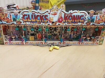 C13  HO OO gauge funfair fairground stall GLUCKS KONIG working lights Faller?