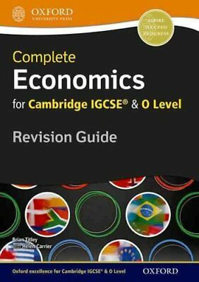 Complete Economics for Cambridge IGCSE (R) and O Level Revision... 9780199154869