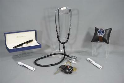 Scream Queens Dr Cascade Taylor Lautner Used Stethoscope Watch Pen & Keys Ss 2