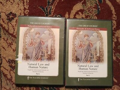 Great Courses NATURAL LAW AND HUMAN HISTORY 4 DVD 24 Lecture Set