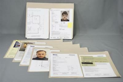 The Foreigner Screen Used Metropolitan Police Incident Report Set