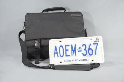 Orphan Black Mrs S Screen Used License Plate & Production Used Laptop Bag