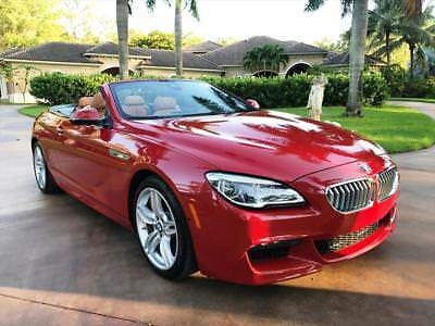 2017 BMW 6-Series 650i 2017 BMW 650i Automatic 2-Door Convertible MSRP $ 104195.00