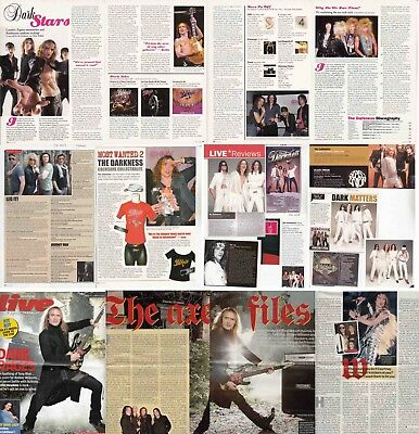 THE DARKNESS : CUTTINGS COLLECTION -interviews- clippings