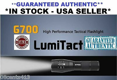 8000lm Guaranteed Genuine Lumitact G700 Tactical Flashlight Military Grade Torch