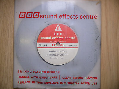 "BBC Sound Effects 7"" Record - Rowing (Sea Scouts Whaler) EC139B"