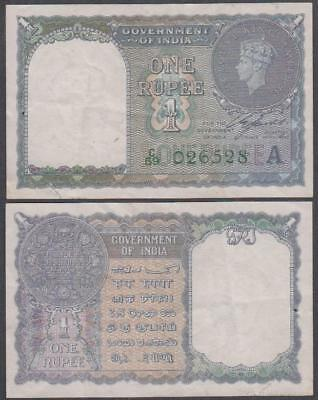 1940 Government of India King George VI 1 Rupee