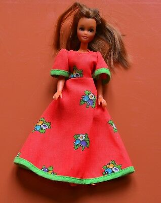 Pippa Doll Gorgeous Marie Retro Palitoy Hong Kong With Dress