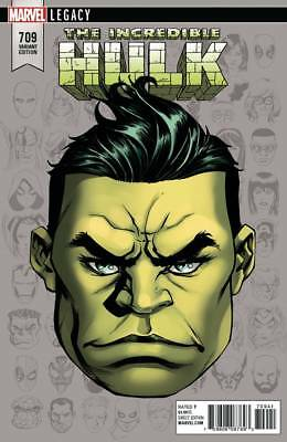 The Incredible Hulk #709 1:10 Mike McKone Variant Comic Book Marvel Legacy NM