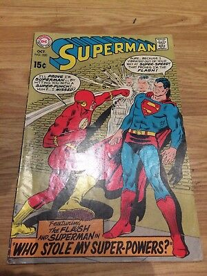 Superman #220  The Flash Appearance! 1969