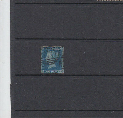 A very nice old GB Victorian 2 Pence Blue issue