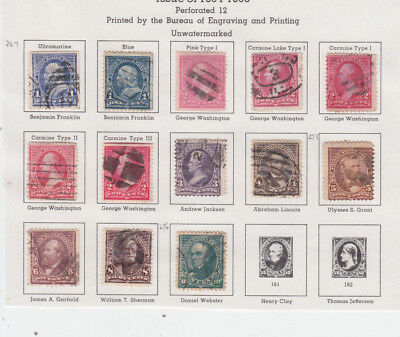A very nice old United States 1894-95 Page Several shades