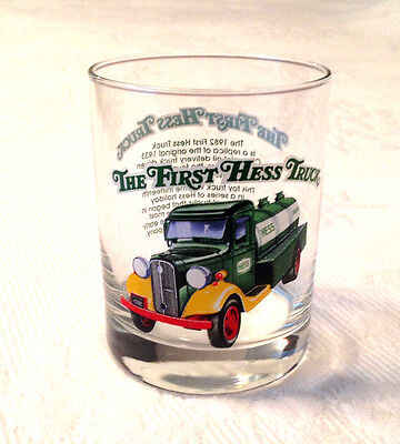 VINTAGE Hess The First Hess Truck Glass 1996 Excellent Condition