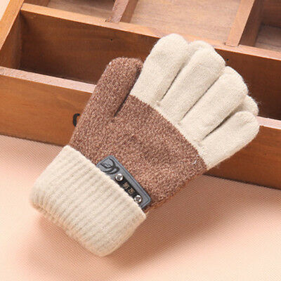 Cute Thicken Hot Infant Baby Girls Boys Of Winter Warm Gloves