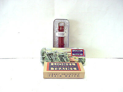 Lionel Trains Collectible Train Wristwatch in Collectors Tin
