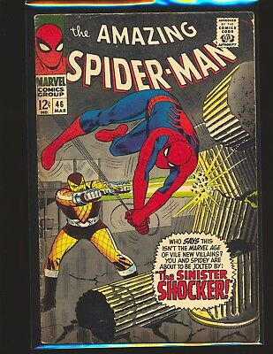 Amazing Spider-Man # 46 - 1st Shocker VG/Fine Cond.
